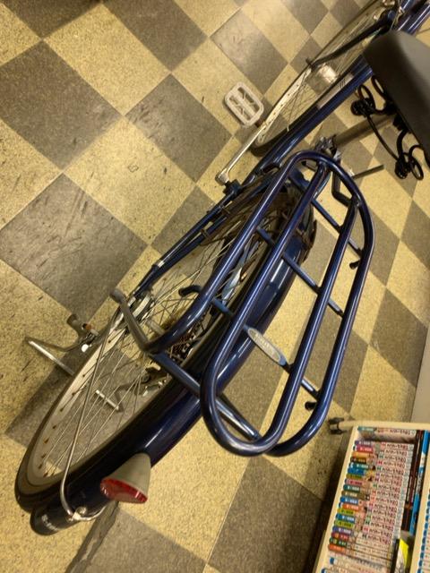 画像4: 〔中古自転車〕シティサイクル 26インチ 外装6段変速 LEDオートライト ローラーブレーキ BAA自転車安全基準適合 ダークブルー