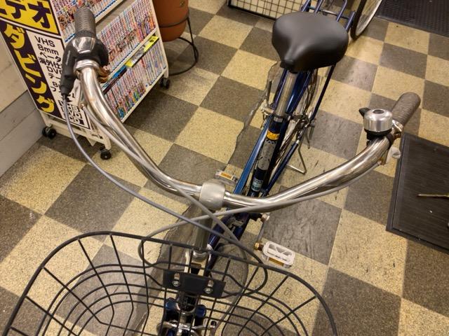 画像5: 〔中古自転車〕シティサイクル 26インチ 外装6段変速 LEDオートライト ローラーブレーキ BAA自転車安全基準適合 ダークブルー